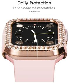 - This crystalized case for your smartwatch turns the trendy gadget into a sparkling eye-catcher - More than 285 Swarovski crystals adorn the case which is sure to get you noticed - Simply clip the watch case to your smartwatch to add a touch of glamour to your look - A charming gift for women who want to accessorize their wearables in a feminine way - Compatible with the Apple Watch Series 4 and 5 Sparkling Eyes, Series 4, Watch Case, Apple Watch Series, Smartwatch, Catcher, Gifts For Women, Swarovski Crystals, Gadgets
