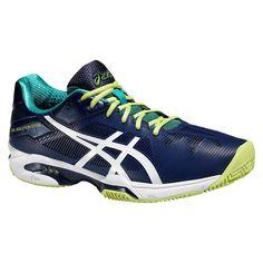 ASICS Gel Solution Speed 3 Clay (Marino): Amazon.es: Zapatos y complementos