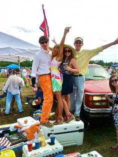 Stadium pants, carolina cup and lilly pulitzer