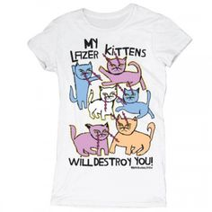 My Lazer Kittens - Tees - Women