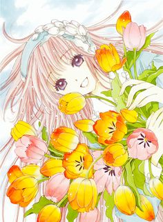 Image discovered by SHOUJO*LOVE. Find images and videos about anime, kawaii and manga on We Heart It - the app to get lost in what you love. Dreamworks, Xxxholic, Otaku, Image Manga, Girls With Flowers, Mecha Anime, Manga Artist, Manga Illustration, Cardcaptor Sakura