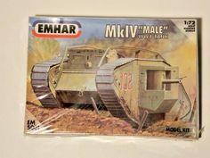 TANK MALE, first World War, kit Ww1 Tanks, Kit, First World, World War, Baseball Cards