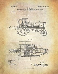 Motor-Tractor for Agricultural Purposes by MEGHANNDRIVE on Etsy Vintage Drawing, Tractors, Purpose, Typography, Graphic Design, Logo, Etsy, Art, Letterpress