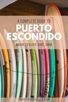 A complete guide to the neighbourhoods and best beaches in Puerto Escondido, along with some tips and tricks to plan your visit!