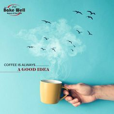 Coffee is always A good Food Poster Design, Sports Graphic Design, Typography Poster Design, Creative Poster Design, Ads Creative, Creative Posters, Creative Advertising, Advertising Design, Coffee Advertising