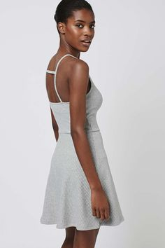 Topshop Strappy Back Tunic Dress — knit dresses <3