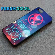 Hunger Game Special Quote - iPhone 4/4s/5 Case - Samsung Galaxy S2/S3/S4 Case - Black or White by FreshCool on Etsy