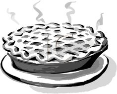 things that are hot clipart. clip art black and white | of a hot pie - things that are clipart n