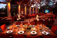 This corporate event arrangement feels less corporate and more social for your employees.   Designed by Poko Event Production