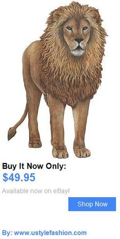 Wall Decals And Vinyl Art: Lion Wall Stickers Decals Murals BUY IT NOW ONLY: $49.95 #ustylefashionWallDecalsAndVinylArt OR #ustylefashion