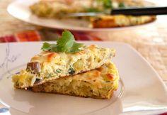 Baked Vegetable Frittata from @BlenderBabes