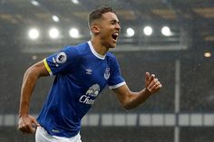 March Dominic Calvert-Lewin opened the scoring with a side-footed finish inside the first 10 minutes against Hull City to register his first goal for Everton. Hull City, Everton Fc, 20 Years Old, Premier League, Liverpool, Blues, Polo Ralph Lauren, Football, American Football