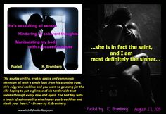 Fueled (Book #2 of The Driven Trilogy) by K. Bromberg (out August 27, 2013)