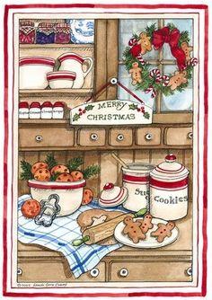 S Gore Evans- christmas cookies