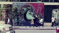 Graffiti Artists El Mac and Retna