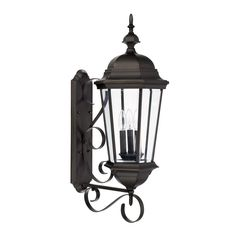 Capital Lighting 9723 Carriage House 3 Light Outdoor Wall Sconce