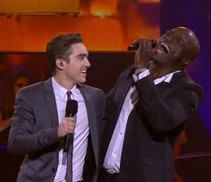 Harrison and Seal on The Voice The Voice, Seal, Sea Lions, Dolphins