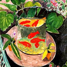 Goldfish....Matisse