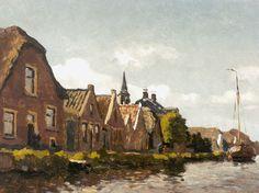 Willem Bastiaan Tholen - Langs de vaart 1904