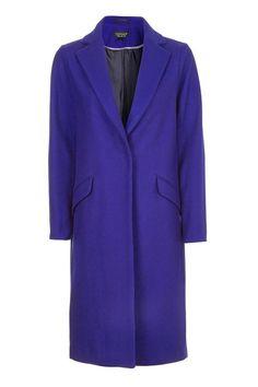 Fluro Wool Coat