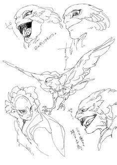 Monster Design, Monster Art, Fantasy Creatures, Mythical Creatures, Creature Concept, Character Design Inspiration, Creature Design, Anime Manga, Cool Drawings
