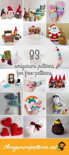 Amigurumi Patterns For Free-patterns
