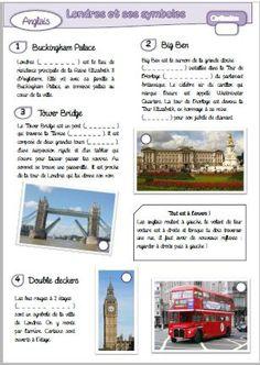 ANGLAIS - CIVILISATION - LONDRES ET SES SYMBOLES                                                                                                                                                                                 Plus