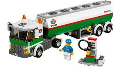 Tank Truck 3180 - Building Instructions - service LEGO.com