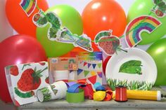 Essential Very Hungry Caterpillar Party Box