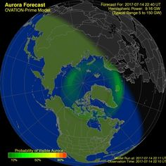 Aurora Forecast | Geophysical Institute  UniversityFairbanksAlaska  Alaska
