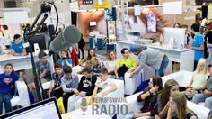 Ansturm auf unseren Berufswahlradio.ch Stand an der OBA, denn bald starten die #EducationGames von heute!