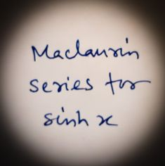 Maclaurin series for Sinh x. Maclaurin series for any function f(x) is + x + + +. Logarithmic Functions, Trigonometric Functions, Mathematics, How Are You Feeling, How To Get, Math