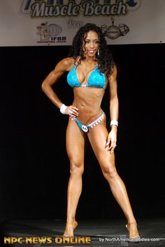 IFBB PRO - Shandy Ortiz  4th place IFBB Miami Muscle Beach