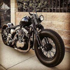 Motorcycle Wiring, Bobber Motorcycle, Cool Motorcycles, Motorcycle Style, Harley Bobber, Bobber Chopper, Harley Davidson Sportster, Old School Chopper, Phone Wallpaper Images