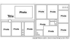 Making A Bridal Shower Scrapbook – Scrapbooking Fun! School Scrapbook Layouts, Scrapbook Layout Sketches, 12x12 Scrapbook, Scrapbook Templates, Scrapbook Designs, Travel Scrapbook, Scrapbook Paper Crafts, Scrapbooking Layouts, Scrapbook Patterns