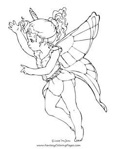 fiary coloring pages 75 Best fairies digi stamps images | Digi stamps, Adult colouring  fiary coloring pages
