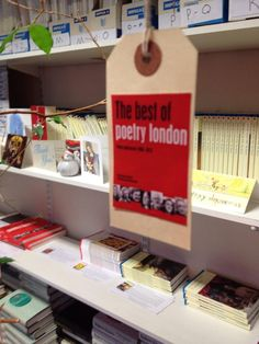 The Best of Poetry London! That's all 12 folks! Get fab discounts at www.carcanet.co.uk/np05.shtml  #adventcalendar