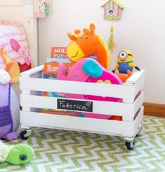 New baby room furniture toy boxes 48 Ideas Toy Storage Furniture, Baby Room Furniture, Toy Storage Boxes, Kids Furniture, Diy Storage, Storage Ideas, Wooden Toy Boxes, Toy Shelves, Baby Room Diy