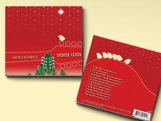 "CD Packaging:Spencer Capier — ""Christmas Instrumental"" - Flink Creative"