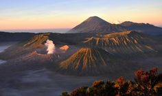 Mount Bromo at sunri