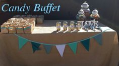 Popcorn & Candy buffet by www.candybuffetsa.co.za