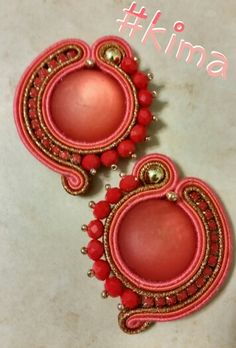 KIMA soutache earrings