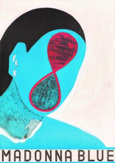 「MADONNA BLUE」/仲條正義○○○展/ギンザ・グラフィック・ギャラリー/1997