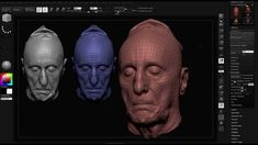 How to work with 3D scans in Zbrush, how to import, retopo and more. Just watch and study. Get your 3D scans on www.3Dscans.sk