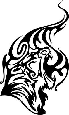 tribal tiger paw tattoo - Google Search