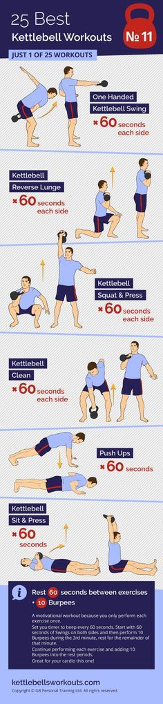 A motivational kettlebell workout because each exercise is only performed once. #kettlebell #kettlebellworkout #fitness #exercise