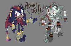 Sonic Design Adopts (CLOSED) by lightningstar1389
