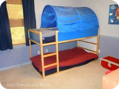 Confessions of a Semi-Domesticated Mama: Show Us Your House: Boys Shared Bedroom