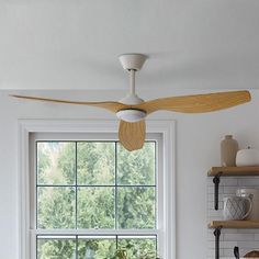 Wilson Wills Collection Wood Mill Fan