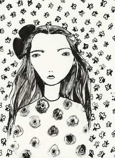 Portrait by Katy Smail